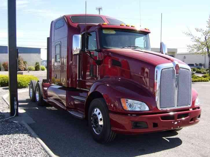 kenworth t660 2016 sleeper semi trucks. Black Bedroom Furniture Sets. Home Design Ideas