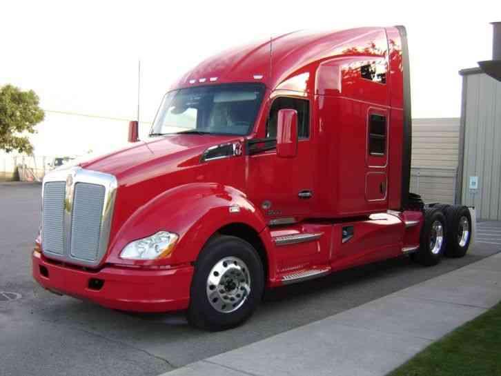 kenworth t680 2016 sleeper semi trucks. Black Bedroom Furniture Sets. Home Design Ideas