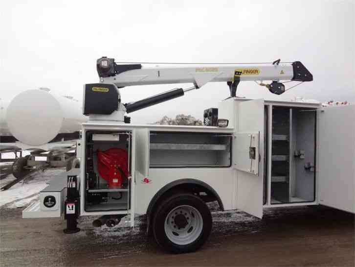 Heavy Duty Trucks >> Palfinger PCB 43 Series body, PSC 6025 crane (2016) : Utility / Service Trucks