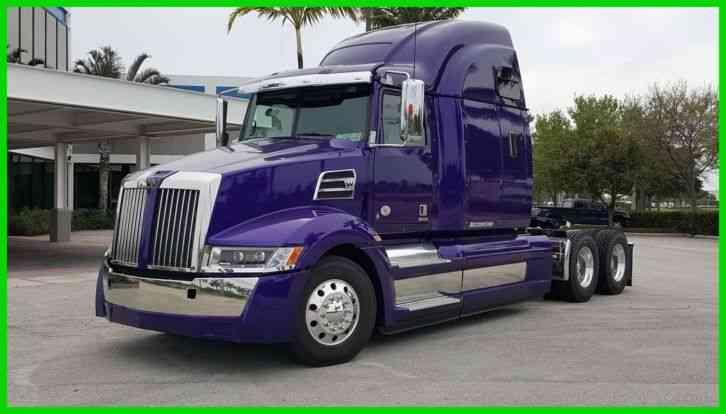 Western Star 5700XE (2016) : Sleeper Semi Trucks