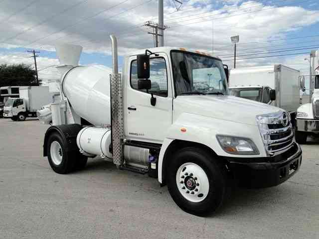 Freightliner Trucks For Sale >> New Hino 268 3 Yard Cement Mixer Truck Auto under CDL ...