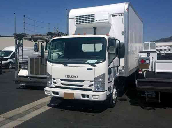 Isuzu refrigerated box truck 14-18ft Diesel 5. 2L 210hp, 19. 500 GVWR (2017)