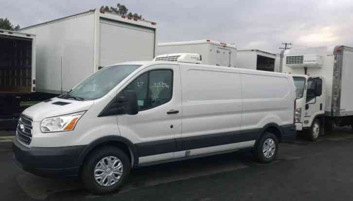 037857dc71c085 Ford TRANSIT 350 REFRIGERATED CARGO VAN FRESH OR FROZEN-THERMOKING REEFER-SCROLL  DOWN FOR