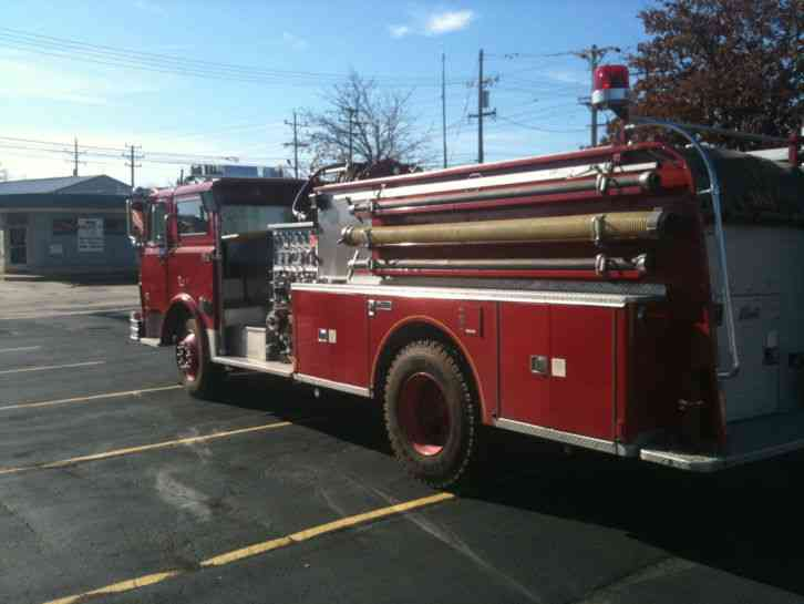 Mack Trucks For Sale >> Mack CF600 (1968) : Emergency & Fire Trucks