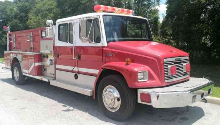 Freightliner FL80 Pumper Fire Truck by E-One (1996)