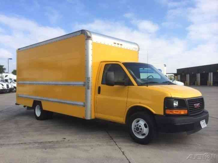 Gmc Savana G3500 2012 Van Box Trucks