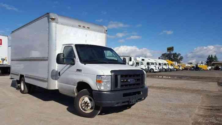 Ford E350 2012 Van Box Trucks