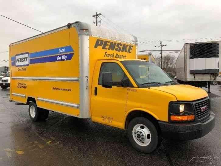 Yellow Cab Tacoma >> GMC SAVANA G3500 (2014) : Van / Box Trucks