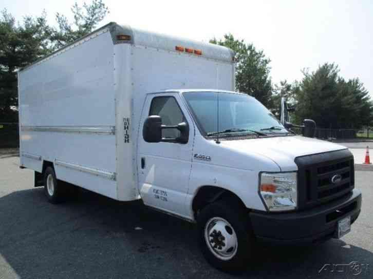 ford e350 2008 van box trucks. Black Bedroom Furniture Sets. Home Design Ideas