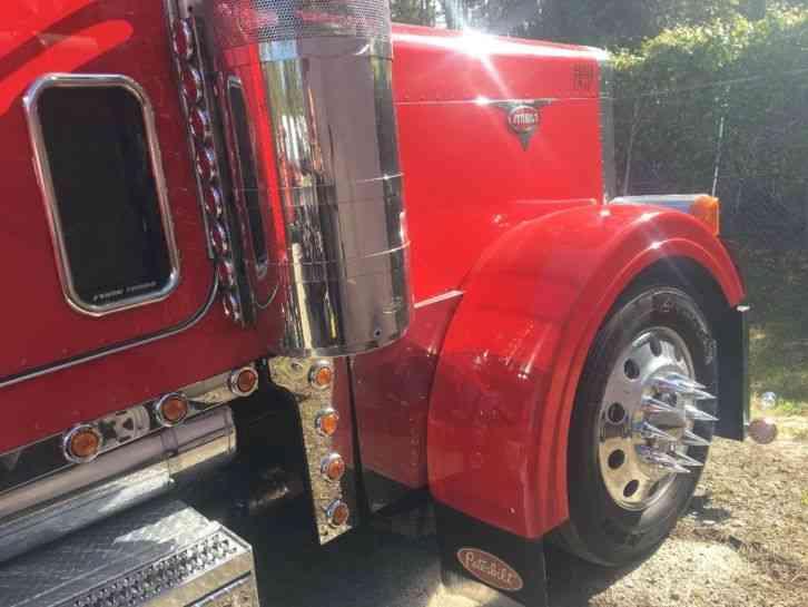 Peterbilt Show Truck Hp Cat Speed on 379x Fenders