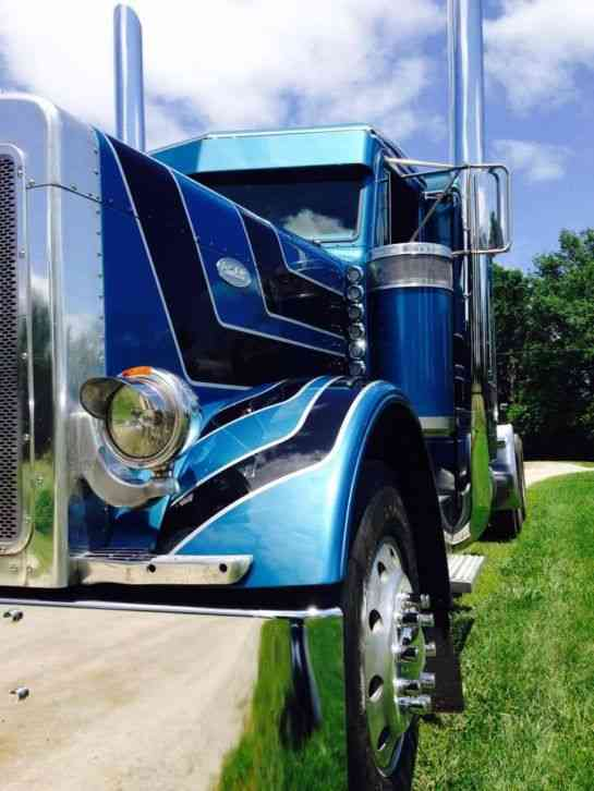 Led Lights For Semi Trucks >> Peterbilt 379 exhd (1992) : Sleeper Semi Trucks