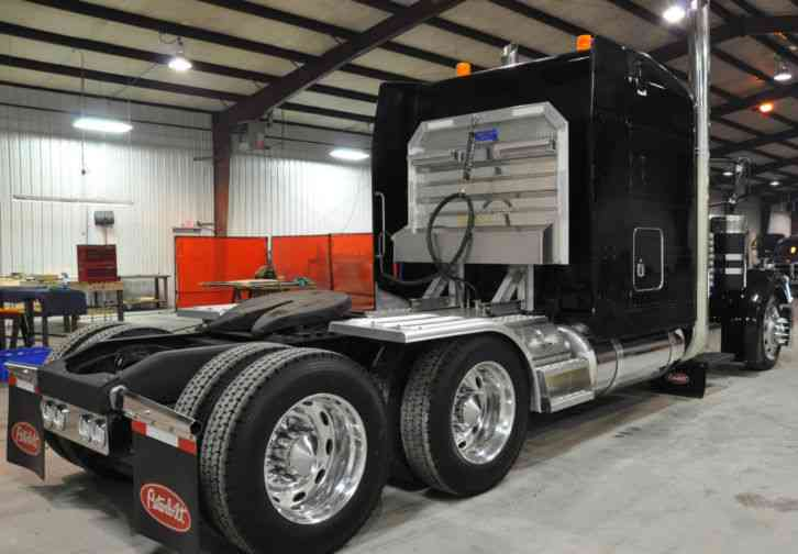 Semi Mud Flaps >> Peterbilt 379 EXHD (1999) : Sleeper Semi Trucks