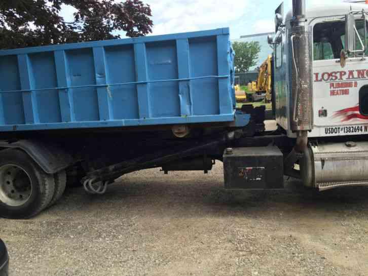 peterbilt rolloff container truck 1989 heavy duty trucks