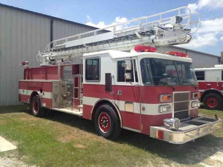 Pierce Telesquirt Pumper 1994 Emergency Amp Fire Trucks