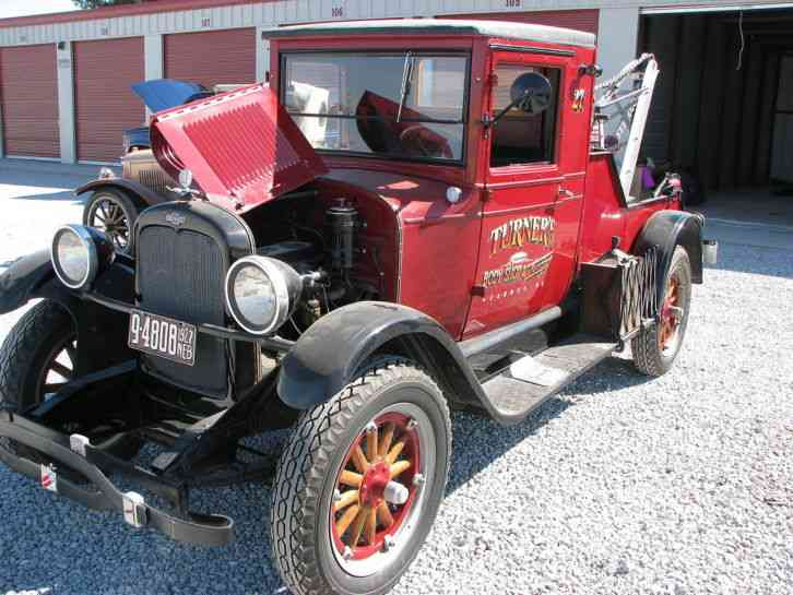 Chevrolet CAPITAL (1927) : Wreckers