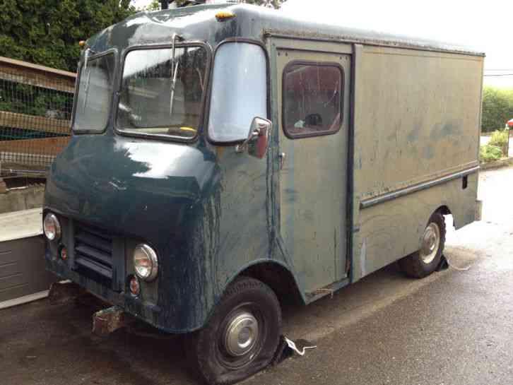 Chevrolet Step Van 1965 Van Box Trucks