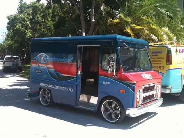 Step Van For Sale >> Chevrolet P10 (1971) : Van / Box Trucks