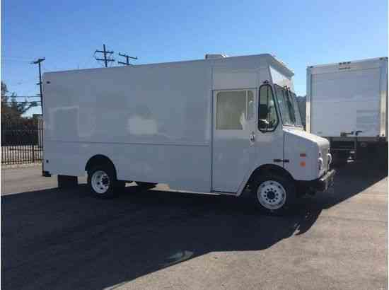 Refrigerated Truck Vehicle : Workhorse refrigerated step van gas thermoking v