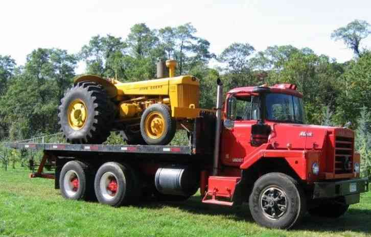 1968 Mack Truck : Mack dm heavy duty trucks