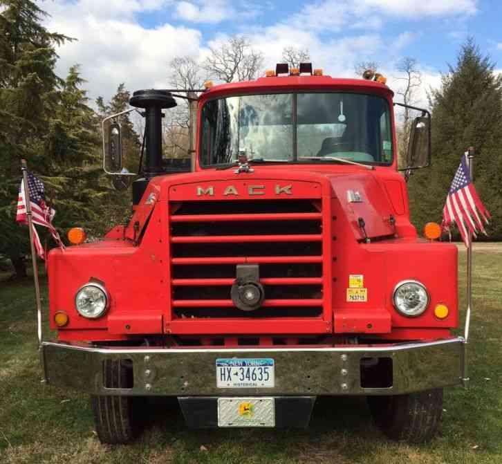 Mack Dm 1968 Heavy Duty Trucks