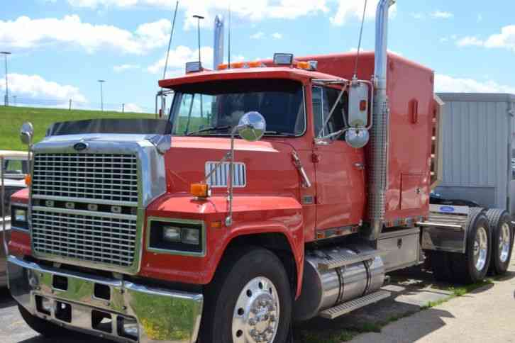 Ford 1987 sleeper semi trucks for Ford used motors for sale