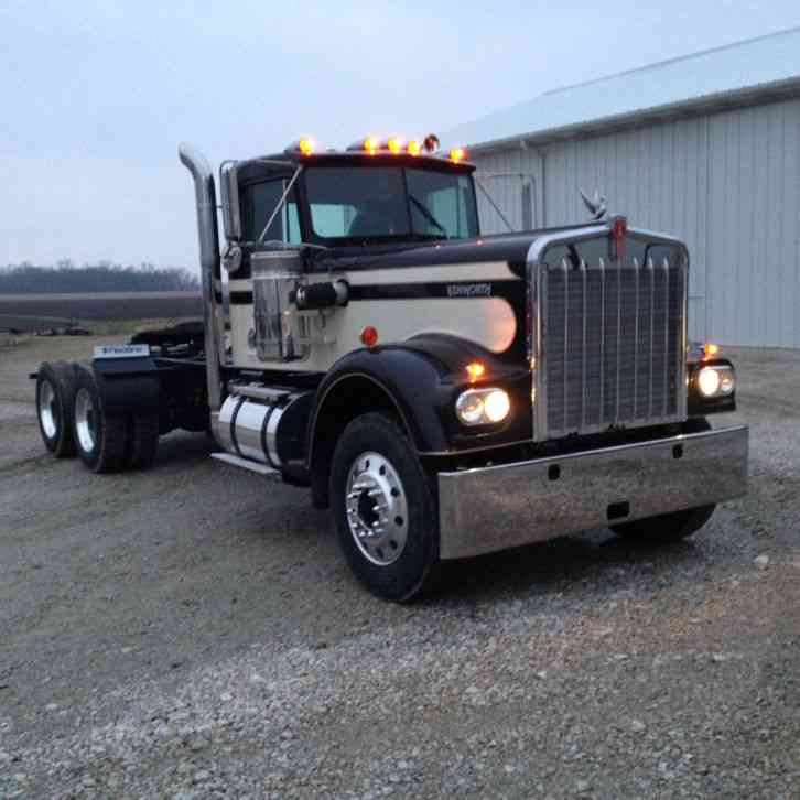 Extended Hood For Sale >> Kenworth W900A (1972) : Daycab Semi Trucks