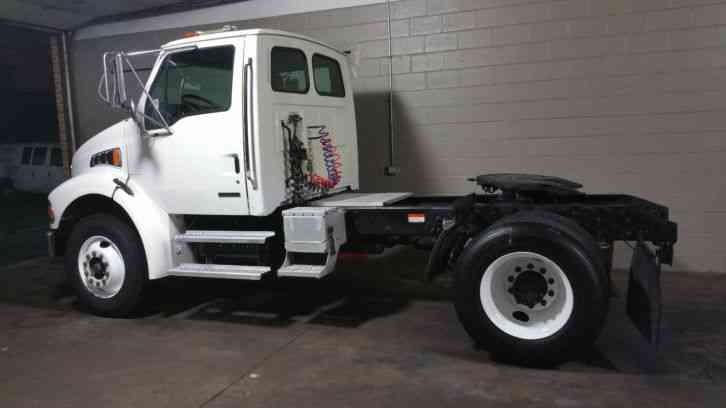 Sterling Freighliner Single Axle Day Cab Hauler Acterra M2 ...