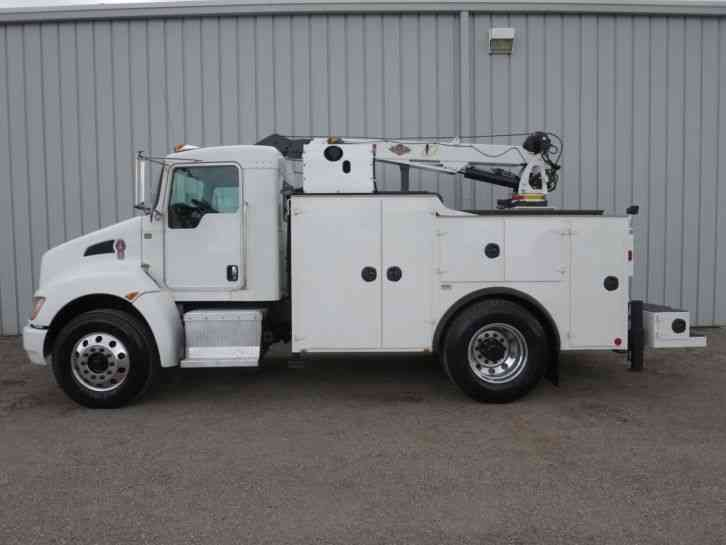 10 Box Truck For Sale >> Kenworth T370 (2009) : Utility / Service Trucks
