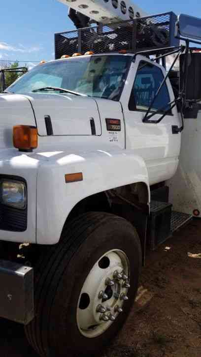 Ford f450sd with eti 29 39 aerial boom bucket 2004 for Placer motors used cars