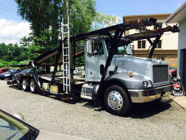 5 car hauler truck for sale	  Peterbilt 330 5 Car-Hauler 5 Car Carrier (2000) : Wreckers