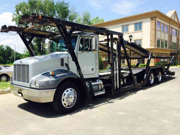 Peterbilt 330 5 Car Hauler 5 Car Carrier 2000 Wreckers