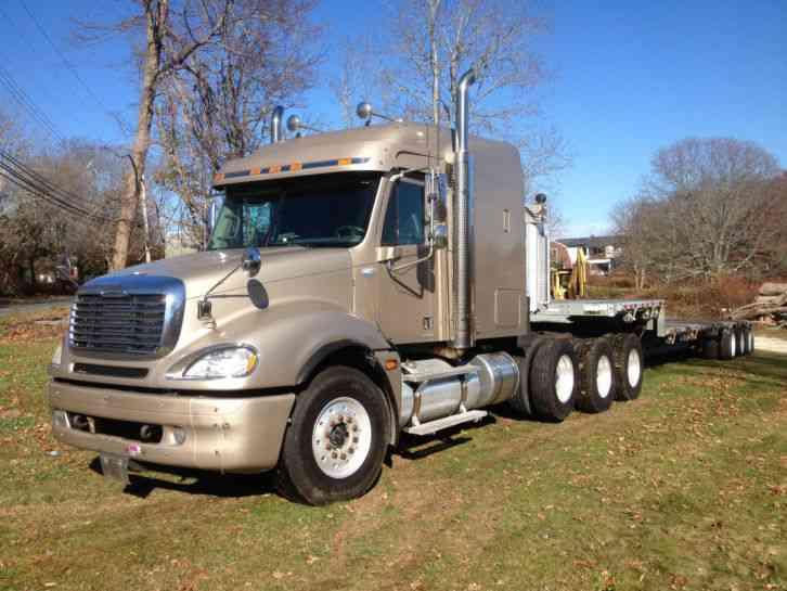 Freightliner Tractor Weight : Freightliner cl st sleeper semi trucks