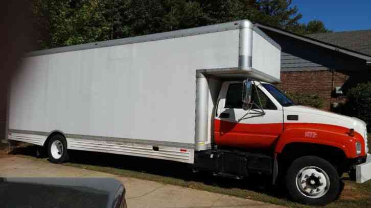 GMC C5500 (2000) : Van / Box Trucks