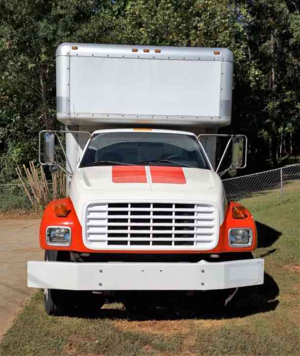 GMC C5500 (2000) : Van / Box Trucks