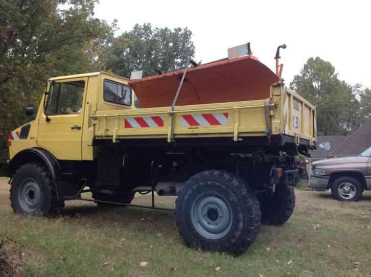 mercedes benz unimog 435 1985 medium trucks. Black Bedroom Furniture Sets. Home Design Ideas