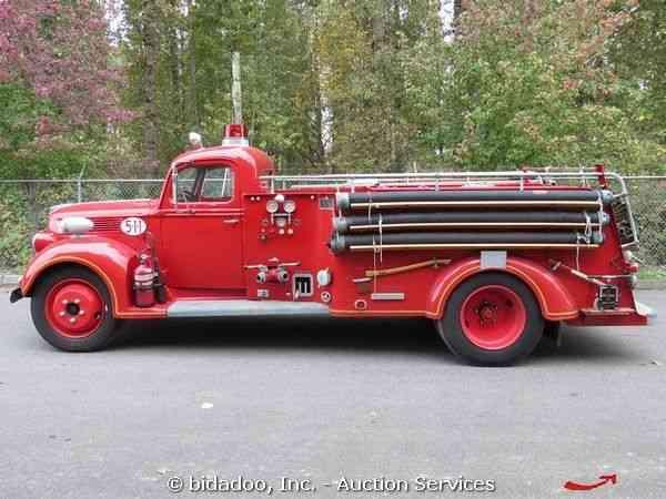 Ford Howard (1940) : Emergency & Fire Trucks