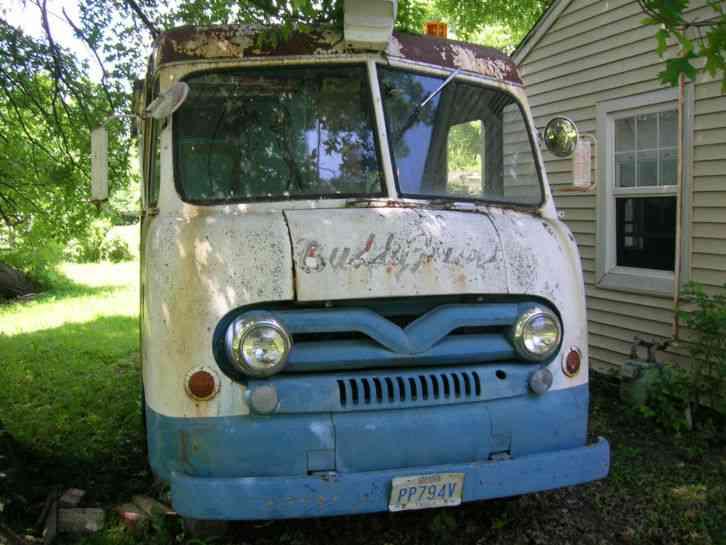 Auto Auction Pa >> Ford P-350 (1958) : Van / Box Trucks