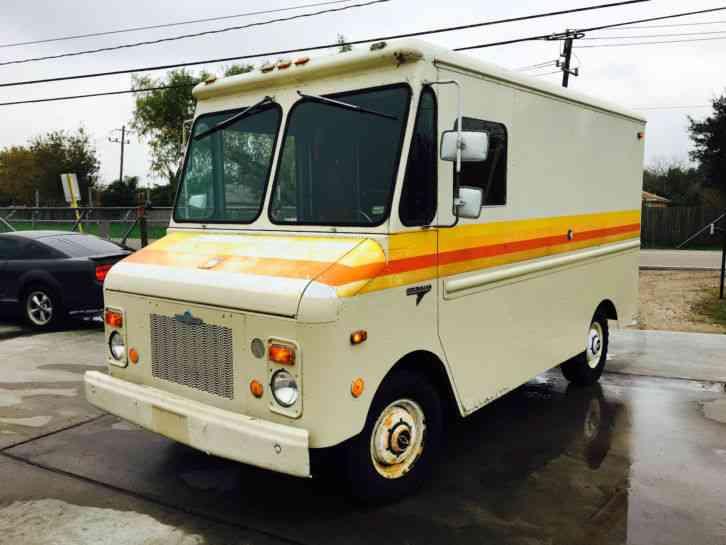 Chevrolet P20 (1978) : Van / Box Trucks