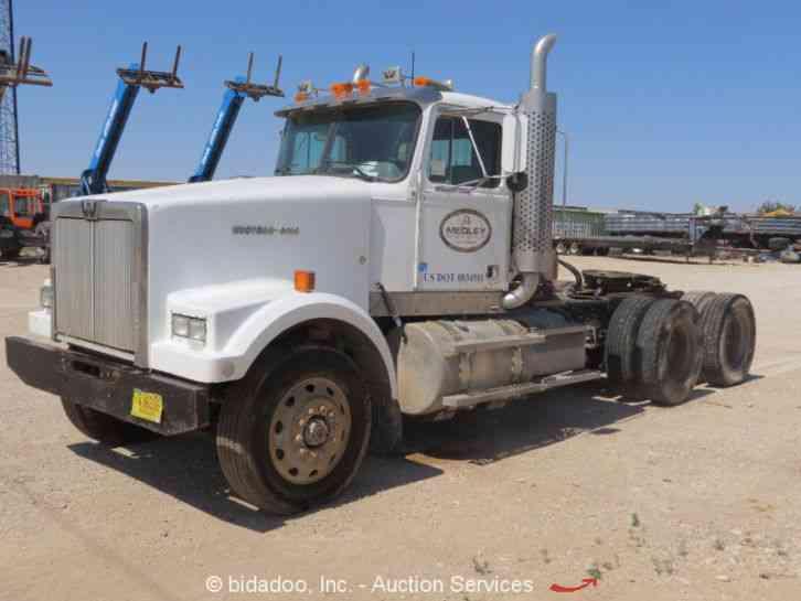 Semi Tractor Accessories : Western star trucks sleeper semi