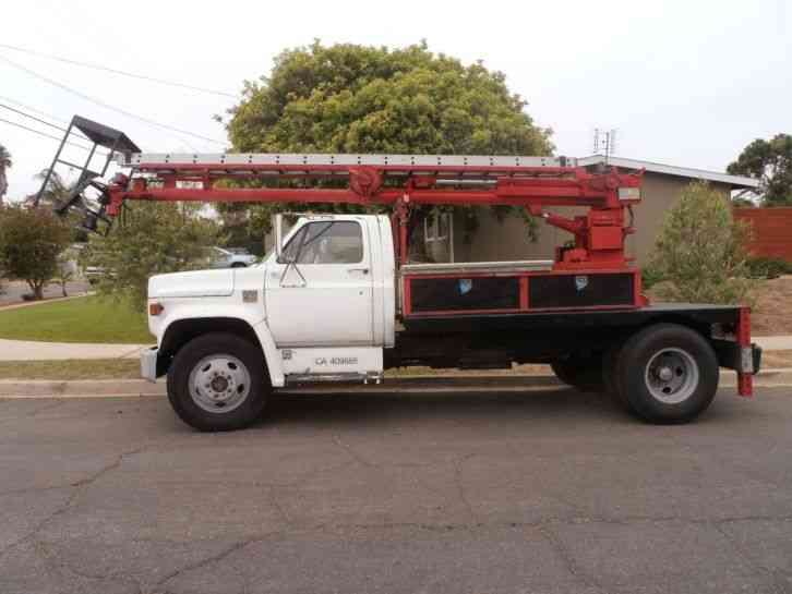 GMC W5500 (2008) : Bucket / Boom Trucks