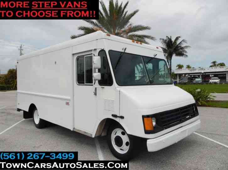 CHEVY WORKHORSE 67K MILES FOOD TRUCK STEP VAN Step Van (1999)