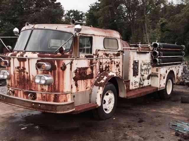 American LaFrance Pumper (1958) : Emergency & Fire Trucks