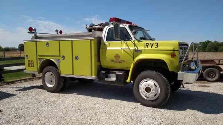 Gmc 7000 1979 Emergency Fire Trucks