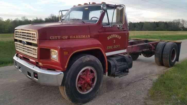 Ford F800  1985    Emergency  U0026 Fire Trucks