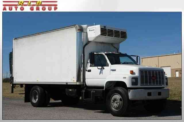 Chevrolet Kodiak 7000 Series Thermo King Reefer (1991)