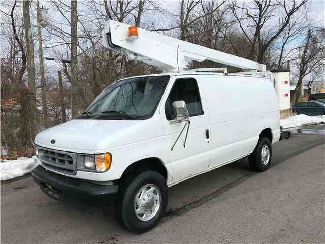Ford E350 36ft BUCKET TRUCK Commercial Econoline (1998)