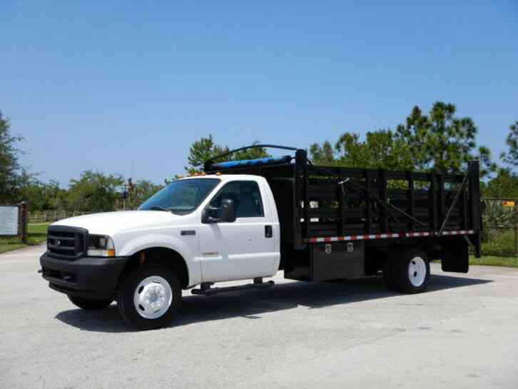 Ford F550 Super Duty Flatbed (2004)
