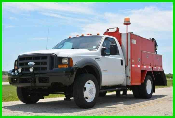 Ford F-550 SD Utility / Service Truck (2005)