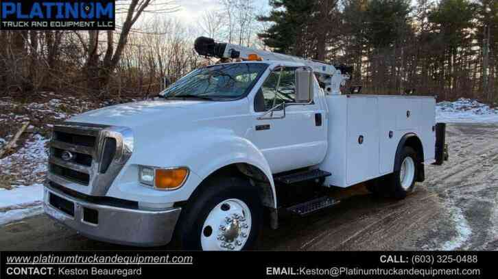 Ford F650XL UNDER CDL Mechanic Service Truck (2005)