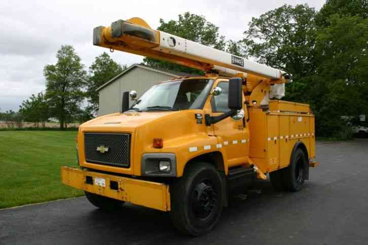 GMC C7500 (2008) : Bucket / Boom Trucks